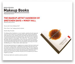 Resource Magazine – Spring 2009 The Makeup Artist Handbook by Gretchen Davis + Mindy Hall